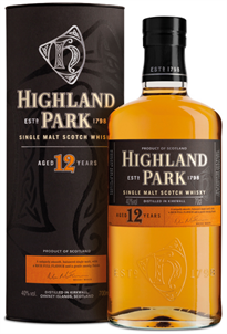 Highland Park Scotch Single Malt 12 Year 750ml